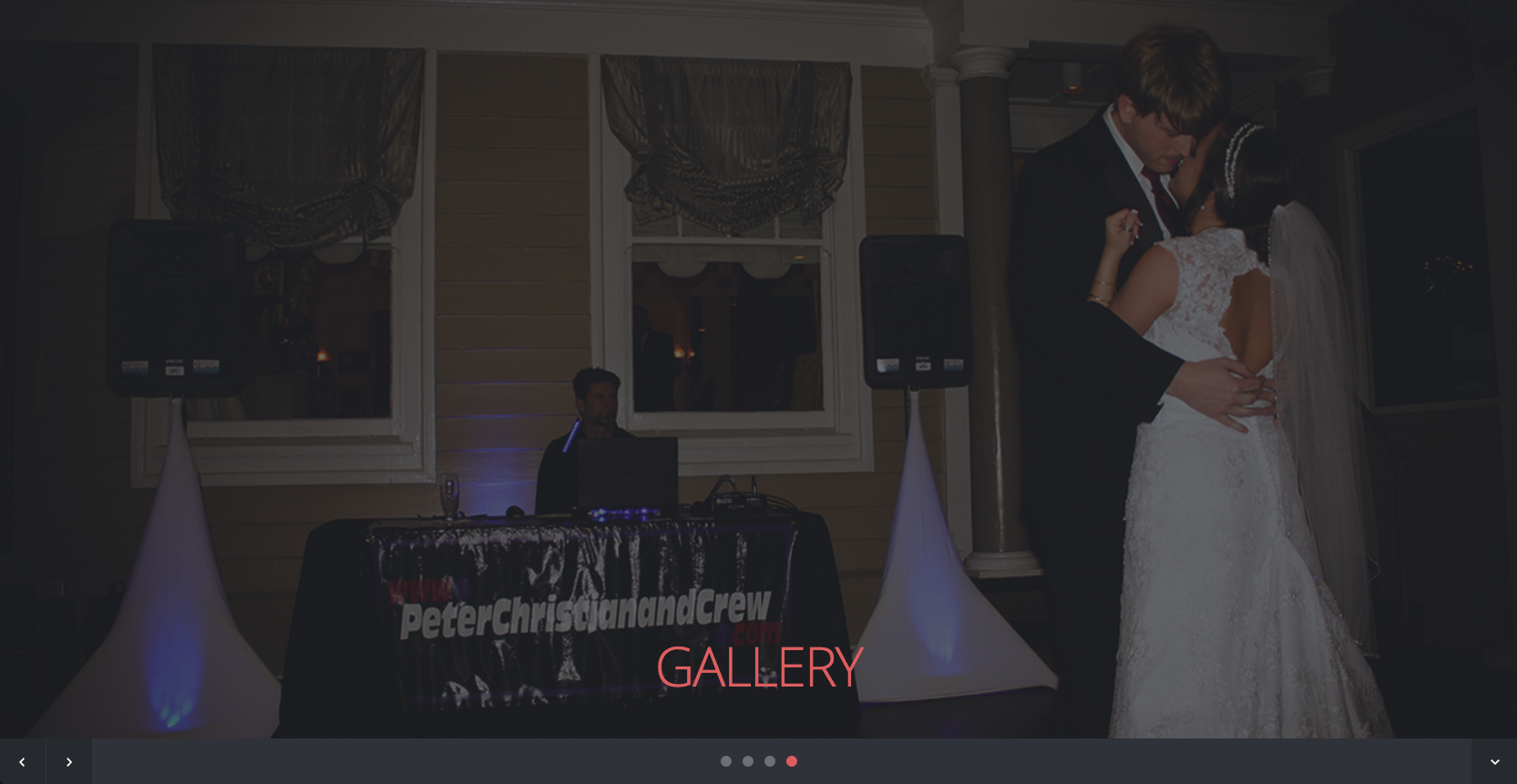 A custom Website for Peter Christian & Crew in Jackson, MS.